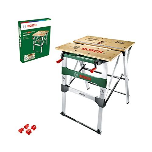 Bosch Arbeitstisch (mit 4x Spannbacken, Karton, max. Tragfähigkeit: 200 kg) PWB 600