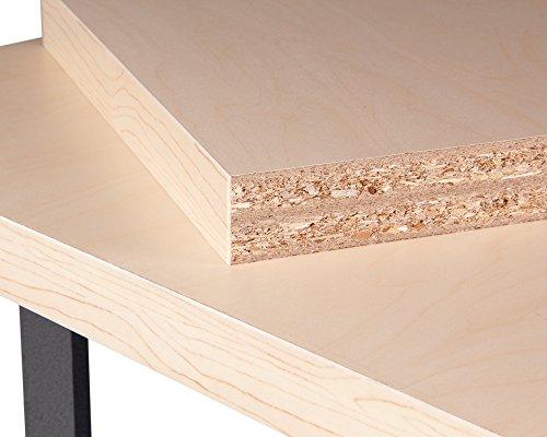 Ondis24 stabile 120 cm breite Montagewerkbank Werkstatteinrichtung Werkstatt Werkbank Werktisch mit abschließbarer Tür, stabiles Modell mit höhenverstellbaren Füßen - 8