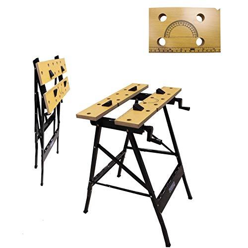 100 kg Werkbank Klappbar Werktisch Spanntisch Arbeitstisch Werkstatt