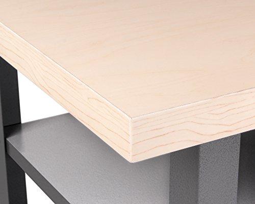 Ondis24 Montagewerkbank Werkstatteinrichtung Werkstatt Werkbank Werktisch Packtisch Basic mit höhenverstellbaren Füßen - 3