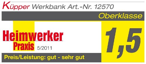 Küpper Werkbank 12577, made in Germany, 170 x 60 x 84 cm - 2