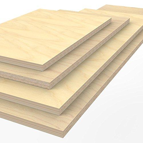 Profi Multiplexplatte 1250 x 600 x 40 mm Werkbankplatte Arbeitsplatte (von 125cm - 200cm lieferbar Variante wählen)