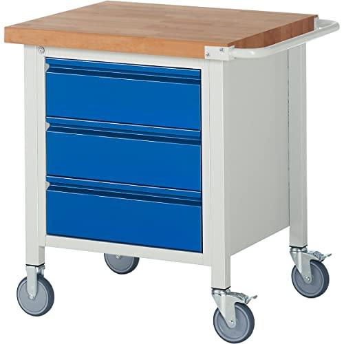 Fahrbare Werkbank Rau 750 x 700 x 880 mm