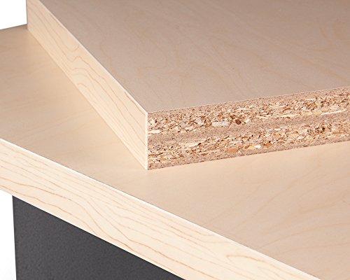 Ondis24 Werkbank Werktisch Montagewerkbank Werkstatttisch Schubladenschrank, 60 cm breit mit 4 rollengeführten Schubläden - 7
