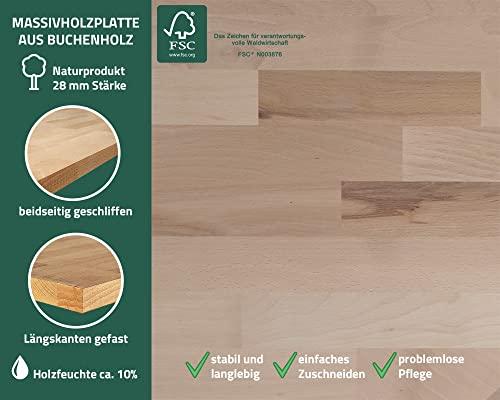 Ondis24 Werkbank Werktisch Werkstatteinrichtung mit 4 Schubladen 60 x 60 cm Arbeitshöhe (85 cm) - 3