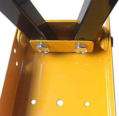 FEMOR 2 Stück Falt-Arbeitsböcke Klappbock bis 120kg belastbar platzsparend - 8