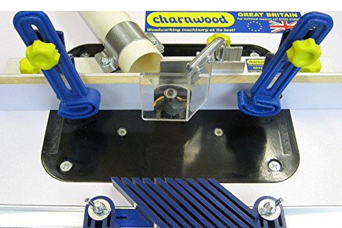 Charnwood W012 Bench Top Router Table - White by Charnwood - 2