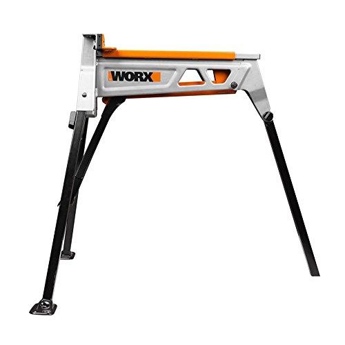 Worx WX060.1 Jawhorse, tragbar aufspannung Werkbank Workstation mit Werkzeugablage - 3