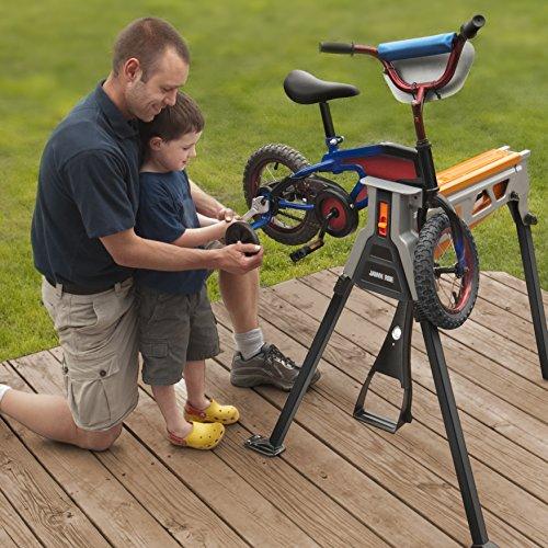 Worx WX060.1 Jawhorse, tragbar aufspannung Werkbank Workstation mit Werkzeugablage - 4