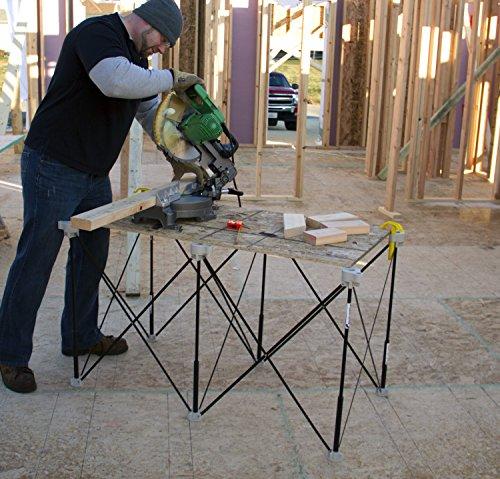 Centipede Werkzeug K1006Strebe erweiterbar 2'x 4' Tragbarer Sägebock und Work System Kit - 2