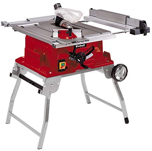 Einhell Tischkreissäge TE-CC 2025 UF (2000 W, Sägeblatt Ø250 x Ø30 mm, max. Schnitthöhe 78 mm, Tischgröße 645 x 530 mm)