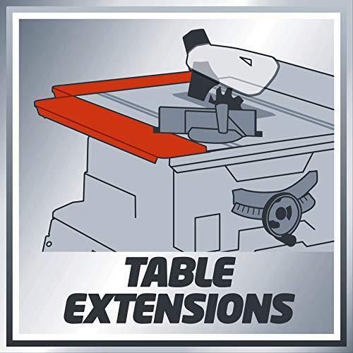 Einhell Tischkreissäge TE-TS 2025 UF (2000 W, Sägeblatt Ø250 x Ø30 mm, max. Schnitthöhe 78 mm, Tischgröße 645 x 455 mm) - 13