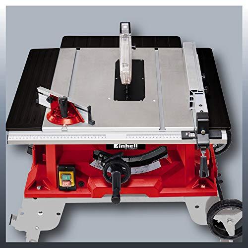 Einhell Tischkreissäge TE-TS 2025 UF (2000 W, Sägeblatt Ø250 x Ø30 mm, max. Schnitthöhe 78 mm, Tischgröße 645 x 455 mm) - 2