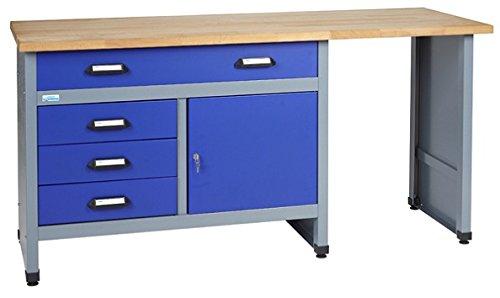 Küpper Werkbank Modell 12037, Breite 170 cm Farbe ultramarinblau