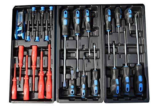 Werkzeugwagen Werkstattwagen Werkzeugkasten Werkzeugkiste + Werkzeug 220 tlg. - 8
