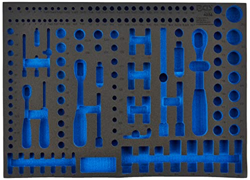 BGS 3/3 Werkstattwageneinlage Leer für Steckschlüsselsatz 192-teilig Pro Torque - 2